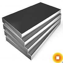 Титановая плита 45х1600х1100 мм ВТ5-1